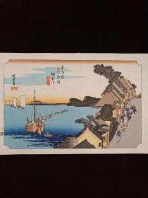 【浮世绘】日本画家 歌川广重(Utagawa Hiroshige)
