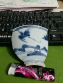 青花瓷片标本凤