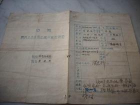 1949年8月-河南省委卫生所-中国新民主主义青年团【入/团/志/愿书】!
