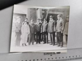 1960邓小平,彭真,杨尚昆,卓琳等视察淮南煤矿,1980年代初期的冲洗片