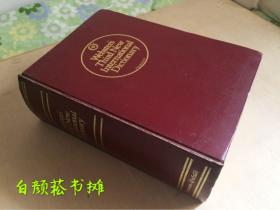 Webster's Third New International Dictionary 韦氏第三版新国际英语大词典