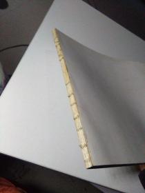江苹扇画集 前后扉页有水印如图
