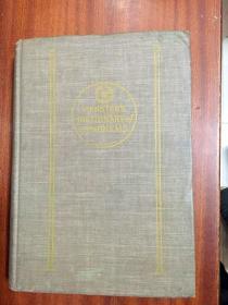 1951年出版印刷 美国原装进口辞典 韦氏同义词词典 第一版   WEBSTER'S DICTIONARY OF SYNONYMS(精装)