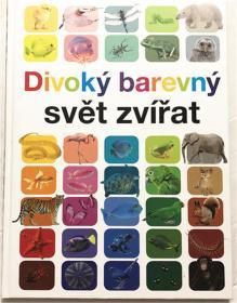 尾单正品小语种 捷克语 精装 divoky barevny svet zvirat 野生动物颜色世界动物 单词书