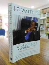 J.C.WATTS,JR.:WHAT COLOR IS A CONSERVATIVE?