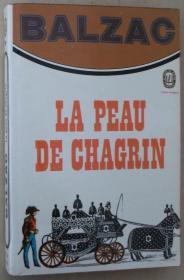 法语原版小说 La Peau de chagrin 平装 Poche – 1972 de Honoré de Balzac  (Auteur)