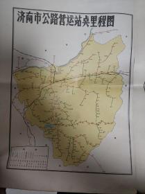 文革济南地图