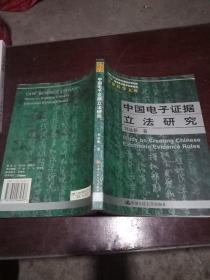 中国电子证据立法研究
