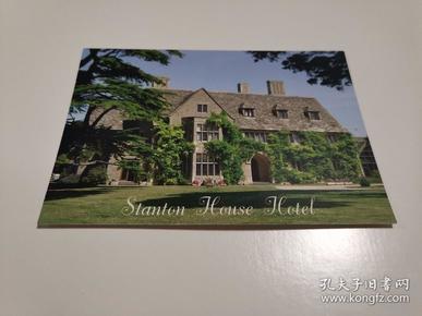 原版明信片 英国斯坦顿酒店 新片 彩色 六寸