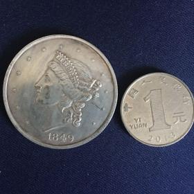 外国硬币 37