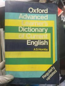 《Oxford Advanced Lictionary of Current English》