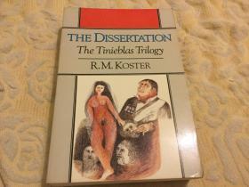 The Dissertation: A Novel (Norton paperback fiction)学位论文:一部小说,1989诺顿版,九品强