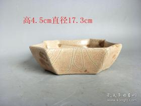 宋代老窑瓷盘子