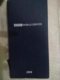 英国BBC 日志 日记薄 记事簿,带世界时区图与英国地铁图(1999)