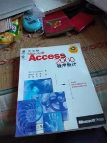 中文版Microsoft Access 2000程序设计 【无光盘】