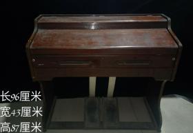 民间旧藏 上海双凤牌老脚踏钢琴 可使用