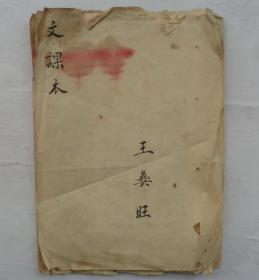 清朝最晚民国   某人毛笔手书(残缺不缺)   有款       货号:第38书架—A层
