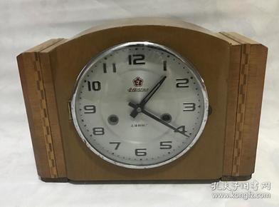 二手老式机械座钟金梅牌15天台钟怀旧老物件正常走时