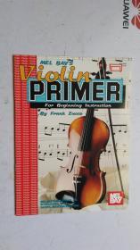 老乐谱 英文原版  MEL BAYS  VIOLIN PRIMER   小提琴入门
