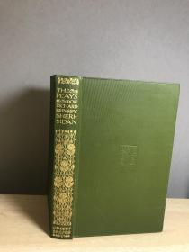 The Plays of Richard Brinsley Sheridan 17.5*11cm