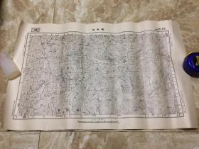【民国地图】鹤峰县(湖南省桑植县 湖北省宣恩县 鹤峰县)地形图 第二份