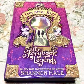 Ever After High: The Storybook of Legends 英文原版小说 精装