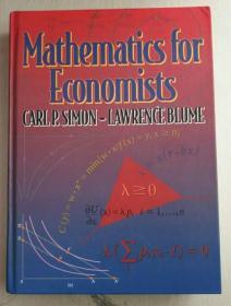 Mathematics for Economists 英文原版书 精装