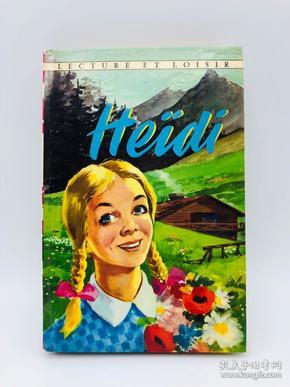 Heidi 法文原版《海蒂》