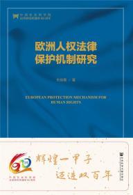 《欧洲人权法律保护机制研究》