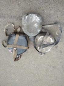 老铝质水壶3个