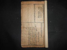 """清代木刻兵书《尉缭子》卷六,第一页右上角有""""张居正泰岳父""""字样,此书很少见,看纸锈应该是清代中早期古籍,。"""