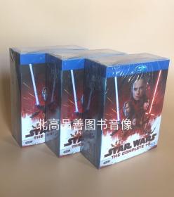 精装BD 星球大战系列(1-9)25GB蓝光高清1080国粤语配音 9碟