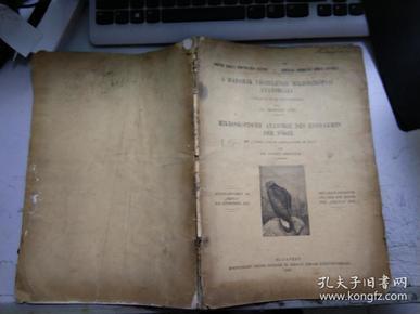 外文原版 1912年出版 有关动物解剖类图书X776