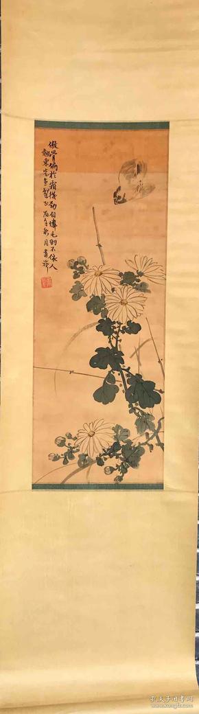 张书旗 纯手绘 国画 (卖家包邮)工艺品