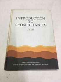 地质力学导论 INTRODUCTION TO GEOMECHAICS(精装英文原版)包