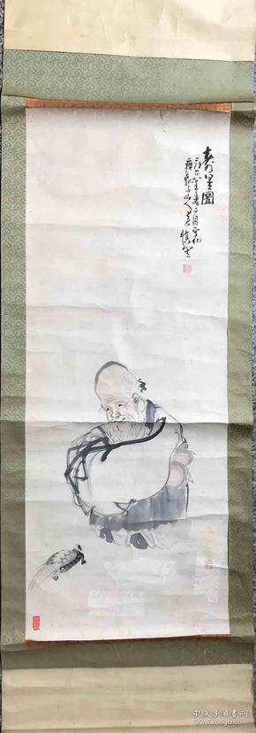 黄慎 纯手绘 国画 (卖家包邮)工艺品