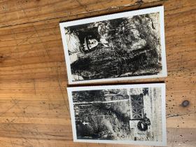 3488:外国真实的黑白照片 (MARCHE-JES-DAMES ( L'ENCIOS OU PIANE UN TRAGIQUE SOUVENIR, DANS LE ROTHER TRAAGIQUE)》2张