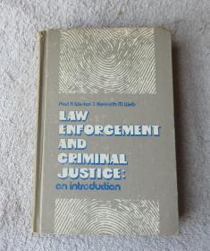 Law enforcement & criminal justice;: An introduction