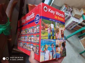 Key words关键词1-36册 儿童英文原版书   分级阅读绘本