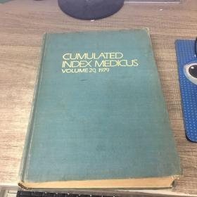 CUMULATED INDEX MEDICUS VOLUME 20  1979