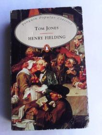 Tom Jones       (Penguin Popular Classics)      英文原版