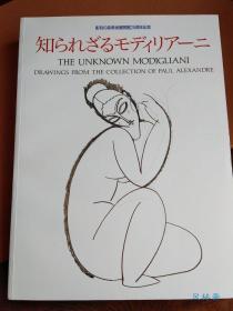 THE UNKNOWN MODIGLIANI DRAWINGS  莫迪里阿尼素描与手稿448件 日文版 16开超厚册