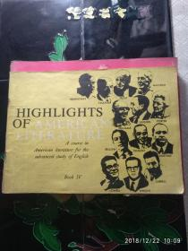 HIGHLIGHTS OF AMERICAN LITERATURE(3册合售)