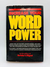 How To Increase Your Word Power 英文原版-如何提高你的话语能力