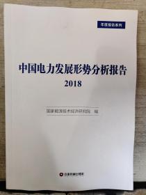 中国电力发展形势分析报告2018