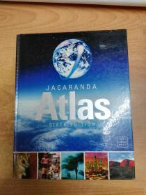 Jacaranda Atlas, 6th Edition (大16开精装 英文版地图册 附光盘)