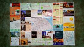 旧地图-上海地图(2014年1版5月4印)2开85品