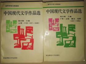 高等学校文科教材 中国现代文学作品选【上下卷】