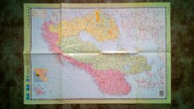 旧地图-挪威瑞典芬兰(2004年9月1版北京3印)2开8品