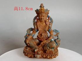 清代老琉璃佛像1